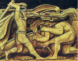 beowulf as a representation of anglo saxon Free essay: a jungian reading of beowulf this essay will  grendel as a representation of the shadow  of the anglo-saxon warrior beowulf,.