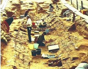 sutton hoo archaeological dig